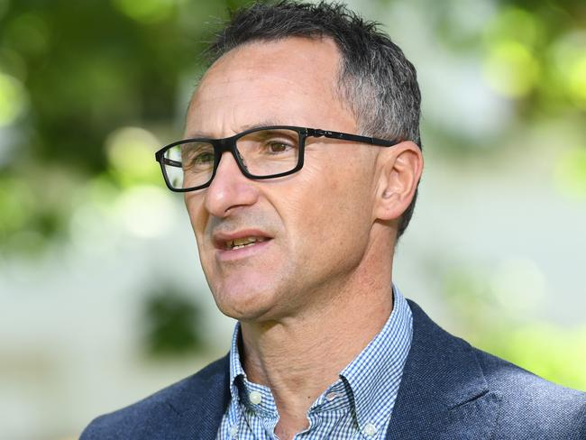 Richard Di Natale believes the date will change. Picture: James Ross/AAP