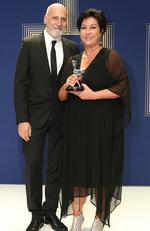 Most Outstanding Miniseries or Telemovie: The Kettering Incident. Pictured: Vincent Sheehan and Victoria Madden. Picture: Julie Kiriacoudis