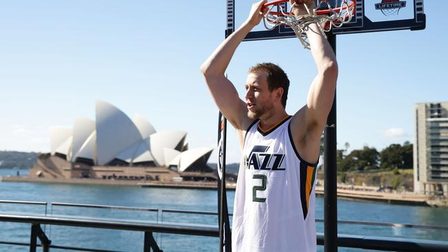 Joe Ingles credits his head coach for 're-finding' his enjoyment for basketball.
