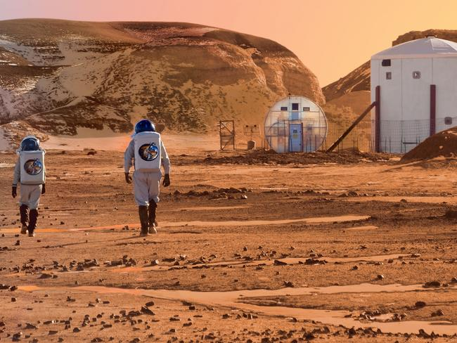 Life of Mars could be 10 years' away. Picture: Mars Society MRDS
