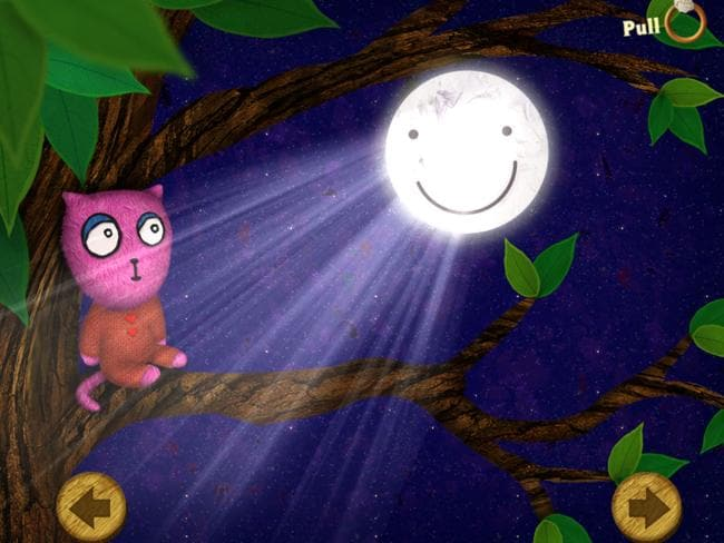 The app helps kids learn problem solving strategies. Picture: Australian Childhood Foundation