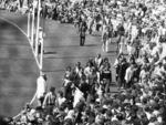 Crowds of fans on oval before Sturt vs Port Adelaide 1976 SANFL grand final football match. 1970s history /Football/SANFL Picture: Supplied
