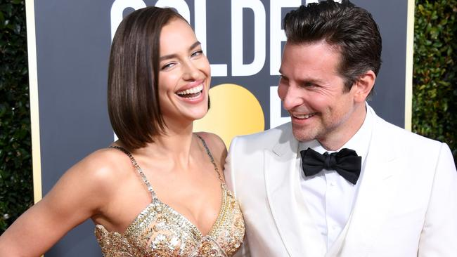 Irina Shayk and Cooper split shortly after the Oscars. Picture: Jon Kopaloff/Getty Images