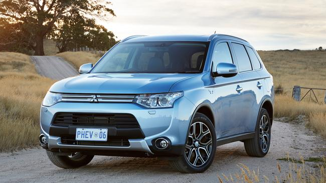 2015 Mitsubishi Outlander PHEV. Picture: Supplied