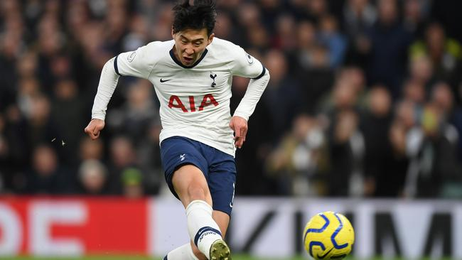 Son Heung-Min Son slots home as Spurs rum rampant over Burnley.
