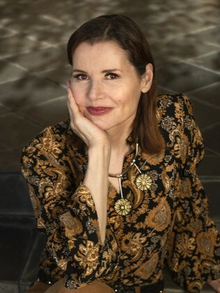 Geena Davis is appearing at Vogue Codes Summit. Picture: Mel Melcon