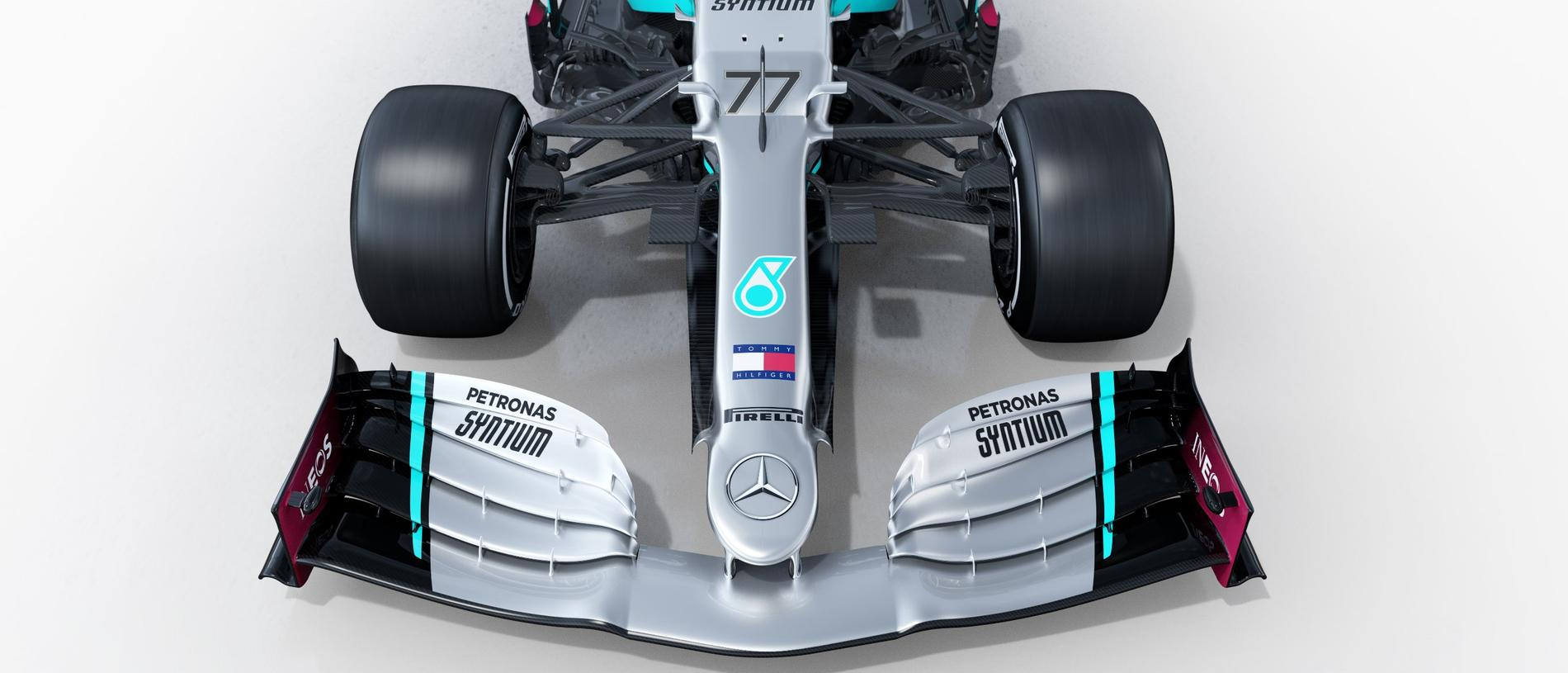 The front view of the 2020 Mercedes.