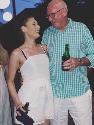 Magistrate Rodney Higgins and court clerk Ashleigh Petrie became engaged during a romantic getaway to Fiji.
