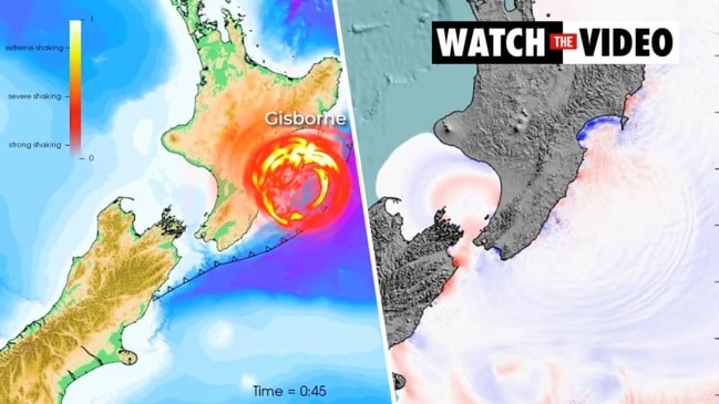 Scientists design scenario for earthquake and tsunami on Hikurangi subduction coast