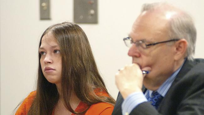 Pilkington in 2015. She pleaded guilty to involuntary manslaughter and murder on Tuesday, November, 19, 2019, to avoid the death penalty. Picture: Joel E. Mast/The Examiner via AP