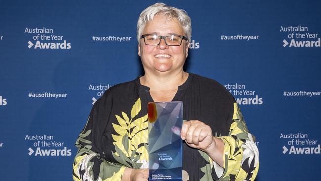 ACT Australian of the Year 2020, Katrina Fanning.