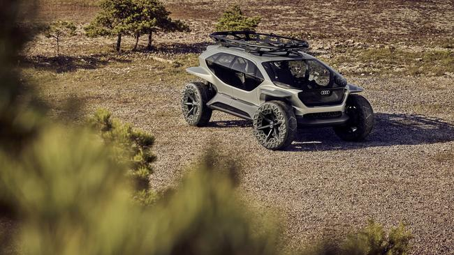 Audi's AI:Trail concept looks like something out of a video game.