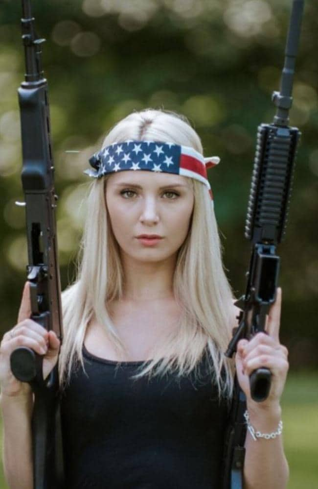 "Lauren Southern hopes her immigration lawyers will ""push through"". Picture: @laurencheriie"