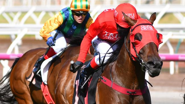 Everest winner Redzel is the horse to beat in the VRC Sprint Classic. Picture: Getty Images
