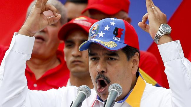 Well aware that most of the international community is against him, Nicolas Maduro is desperate to hold onto power.