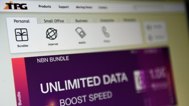 TPG losing broadband share as NBN grows