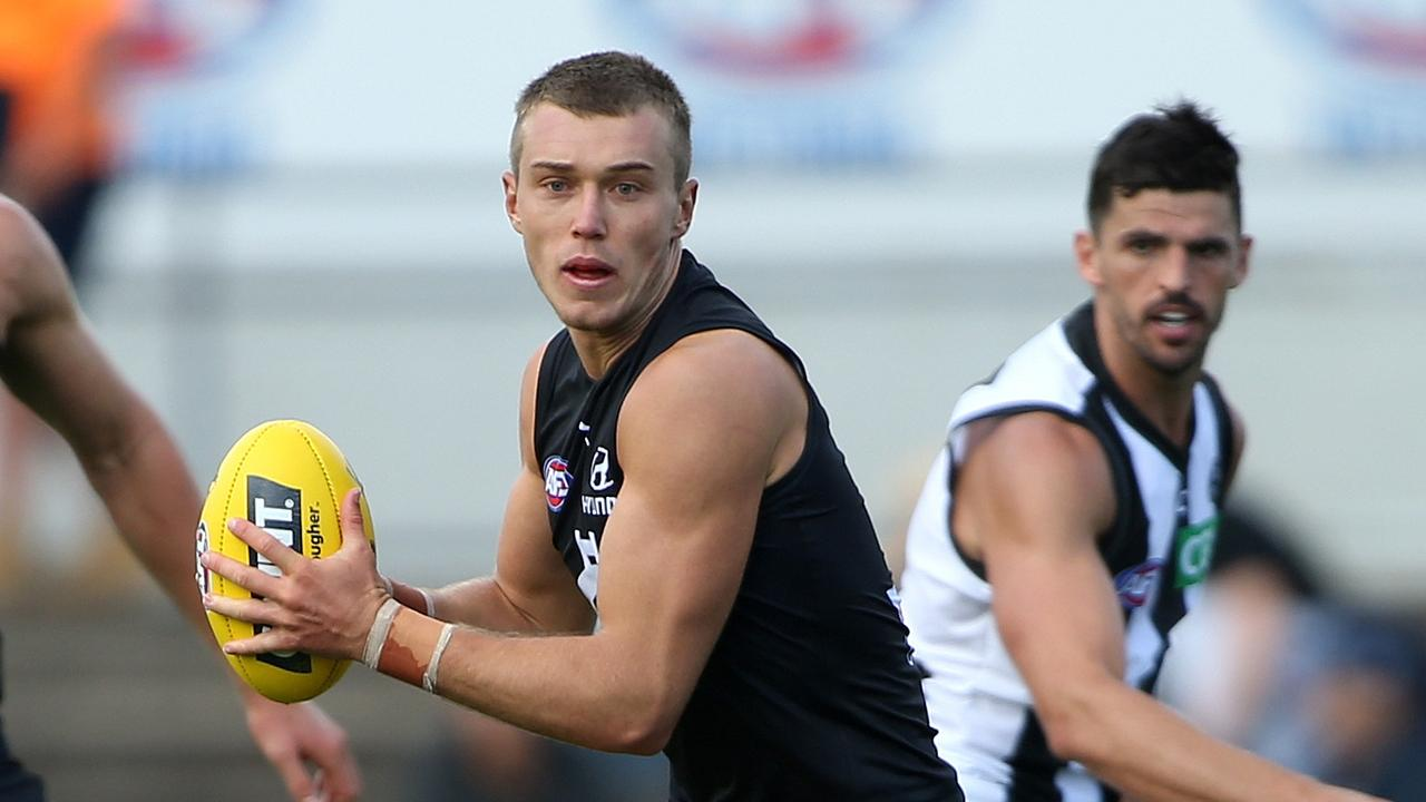 Patrick Cripps has been backed for the Brownlow.