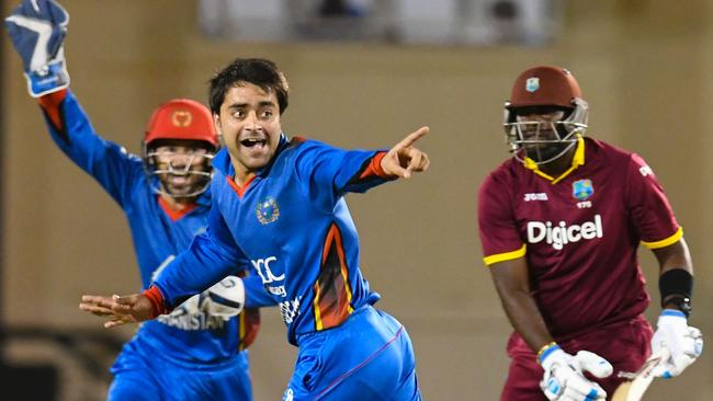 Rashid Khan will lead Afghanistan in the qualifiers. (Cricket Australia)