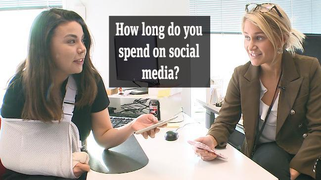 How long do you spend on social media?