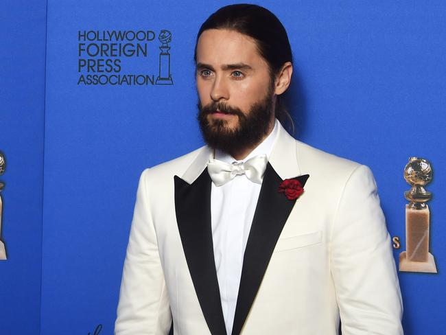 Only Jared Leto can get away with this.