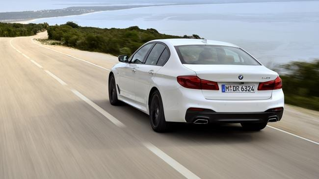 The 2016 BMW 5 Series (overseas model shown)
