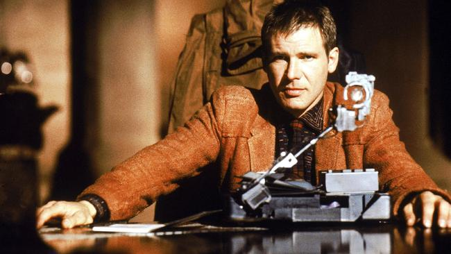 Harrison Ford in a scene from the original 1982 Blade Runner film.