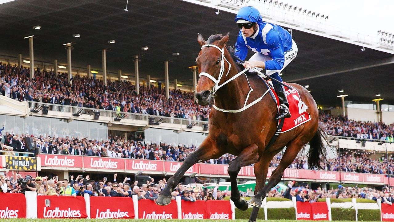 Winx is one of the horses organisers hope will compete in a new $5 million race in Melbourne. Picture: Getty Images