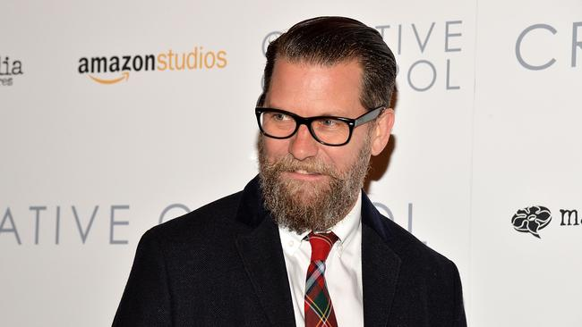Gavin McInnes a strong supporter of Donald Trump and predicts he will win the election in a 'landslide' victory. Picture: Slaven Vlasic/Getty Images