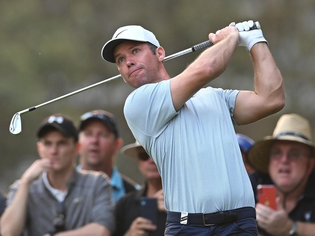 Paul Casey is right in the hunt.
