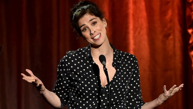 Sarah Silverman spoke out about friends doing bad things. Photo: Getty
