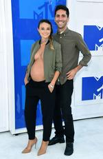 Nev Schulman and girlfriend Laura Perlongo attend the 2016 MTV Video Music Awards at Madison Square Garden on August 28, 2016 in New York City. Picture: Getty