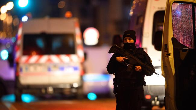 Police have exchanged fire with the gunman. Picture: AFP