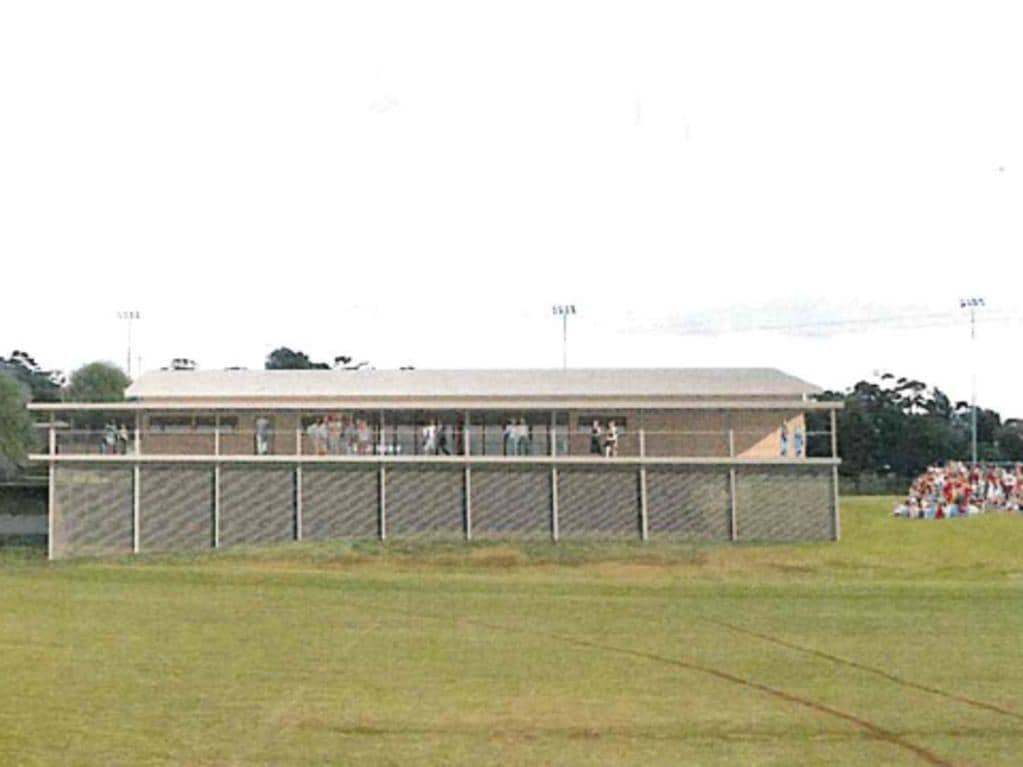 The Greenway Community Sports House will provide female change rooms and an all-purpose facility for club gatherings.