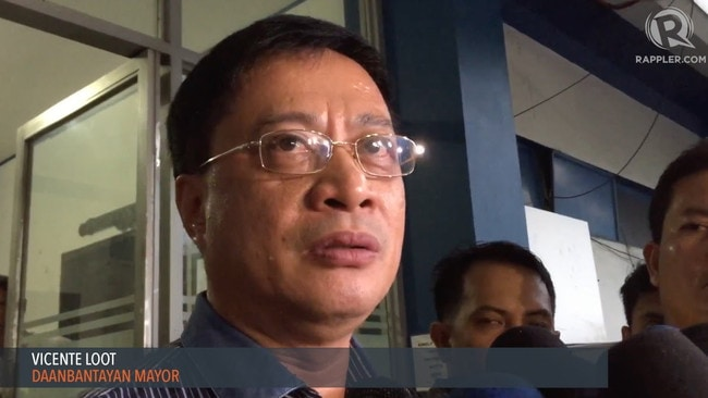 Vicente Loot survived an assassination attempt last May. Picture: Rappler.com