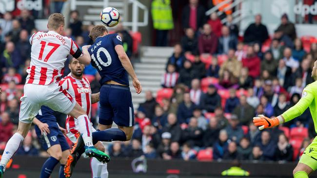 Spurs have appealed to the Premier League to have their second goal against Stoke credited to Harry Kane