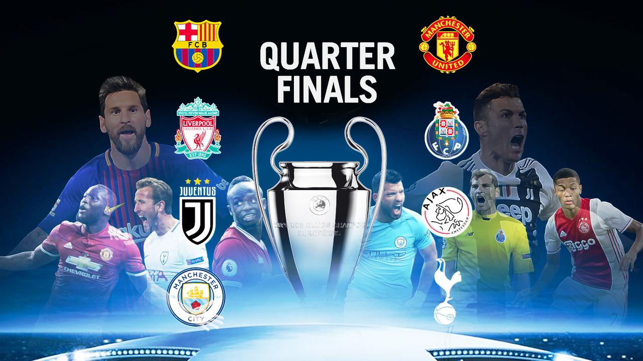 Here's our guide to the Champions League quarter-finals!