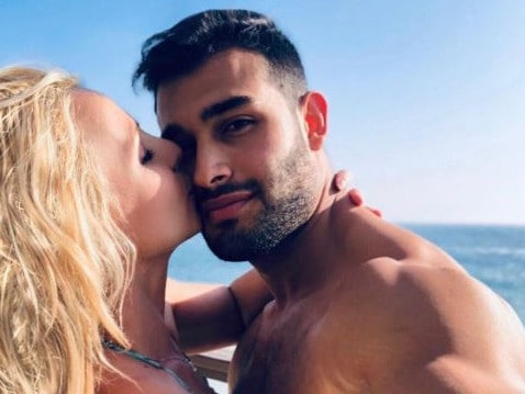 Britney Spears is dating model Sam Asghari.