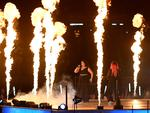 Kate Ceberano performs during the Closing Ceremony for the Gold Coast 2018 Commonwealth Games at Carrara Stadium. (Photo by Bradley Kanaris/Getty Images)