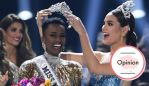 South Africa's Zozibini Tunzi won Miss Universe 2019. Photo by VALERIE MACON / AFP