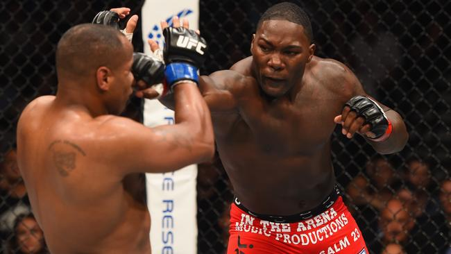 Anthony 'Rumble' Johnson is one of the UFC stars taking part.