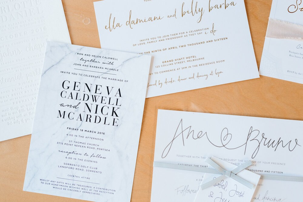 How to decide on your wedding stationery - Vogue Australia