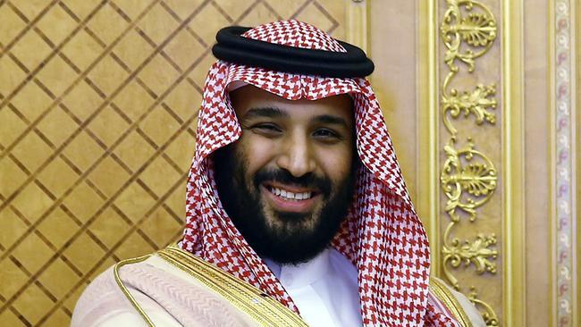 Saudi Crown Prince Mohammed bin Salman. Picture: Presidency Press Service