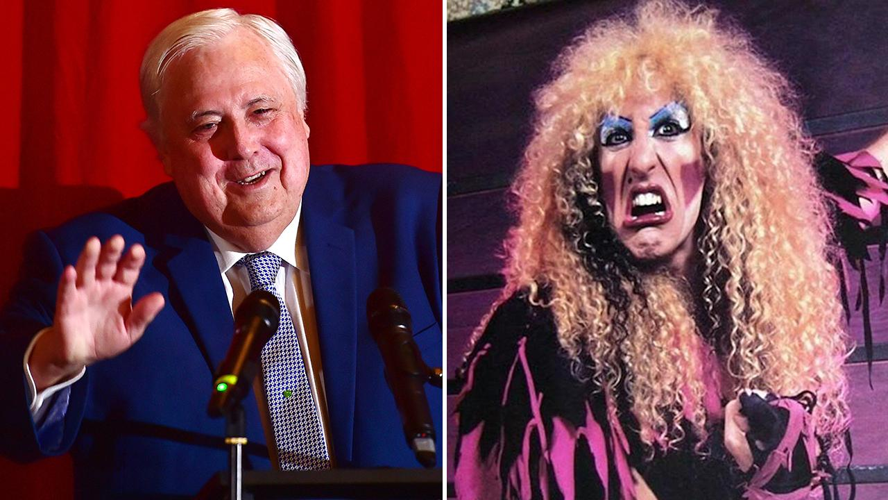 Twisted Sister Christmas.A Wannabe Reheated Mp Going A 1980s Rocker With The Ghost Of