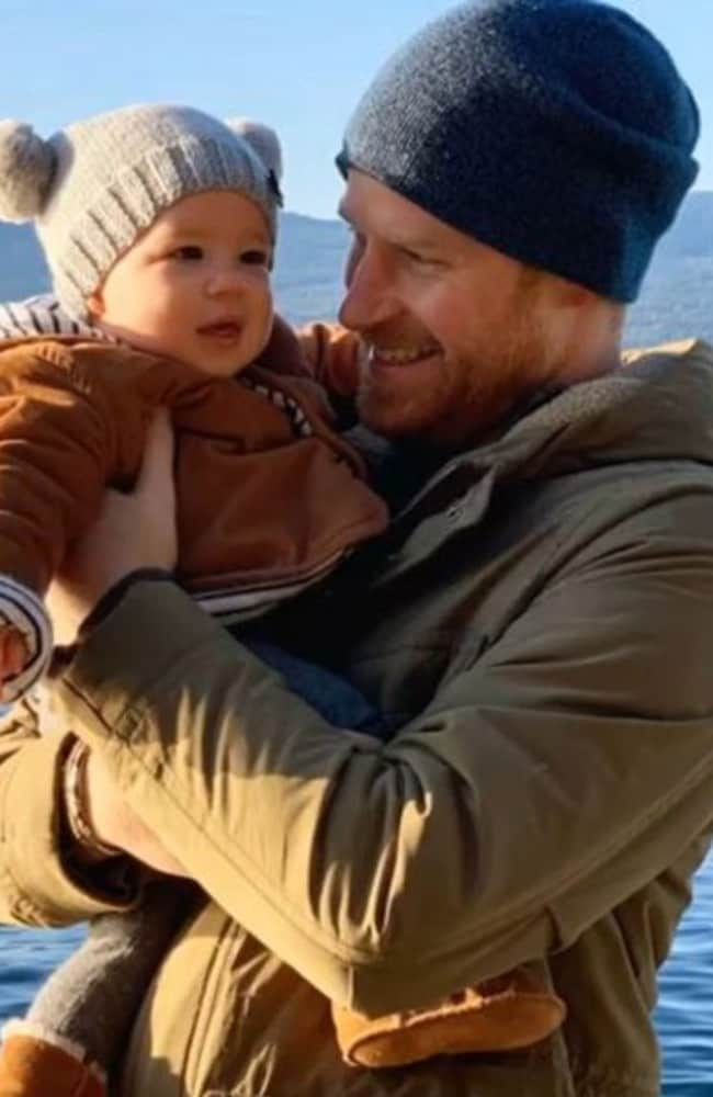 Harry and Meghan, shared an adorable new image of their son Archie this week. Picture: Instagram.