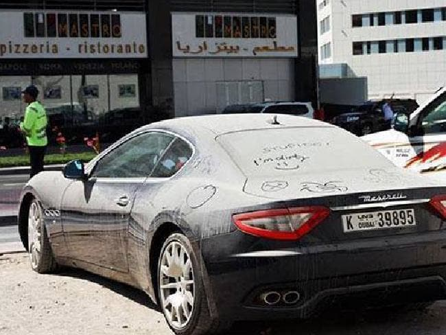 Dubai S Abandoned Supercars Expensive Cars Discarded At Airports