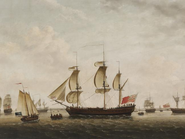 Cook took the HMS Resolution on two Pacific expeditions. Picture: Supplied