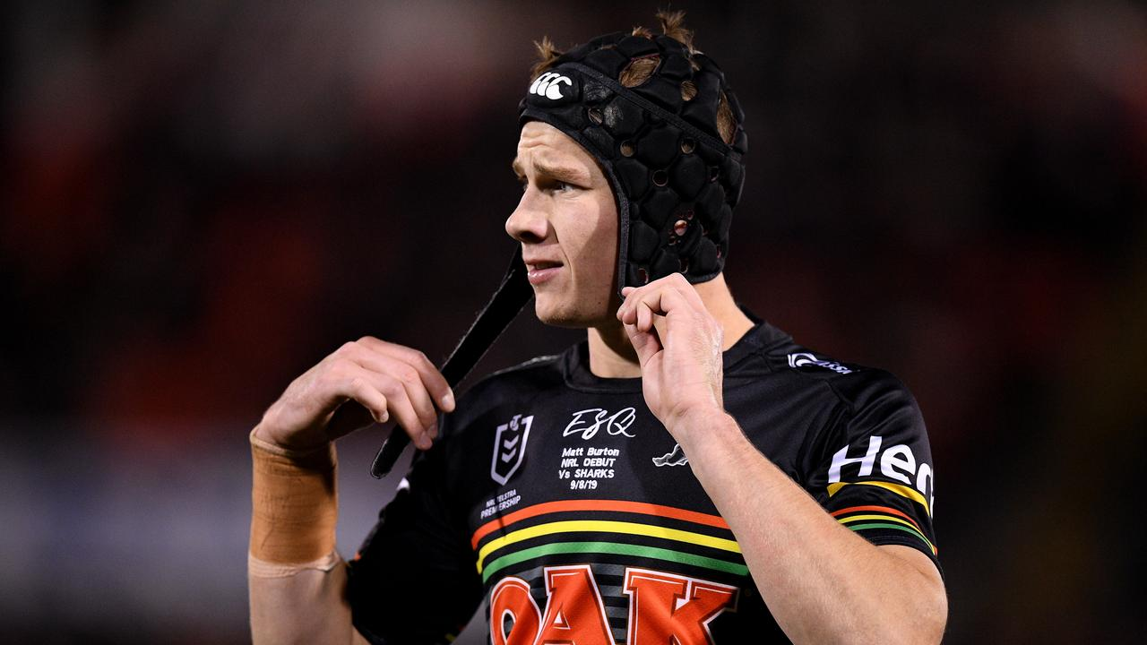 Matt Burton starred on debut for the Panthers against the Sharks on Friday night.
