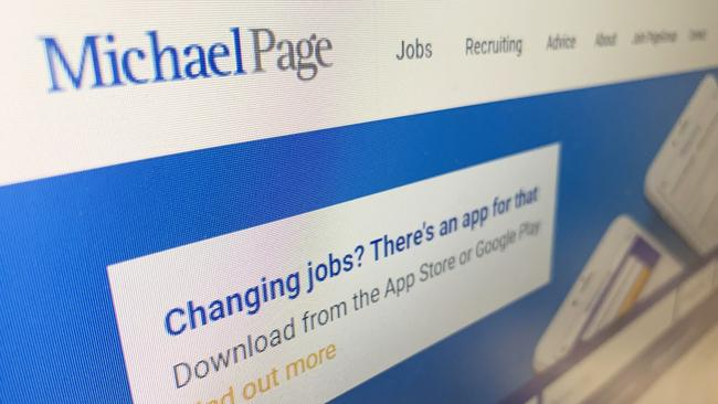 Recruitment agency Michael Page has urged candidates to keep their CVs professional but ensure it's the real you on paper. Picture: Benedict Brook/news.com.au