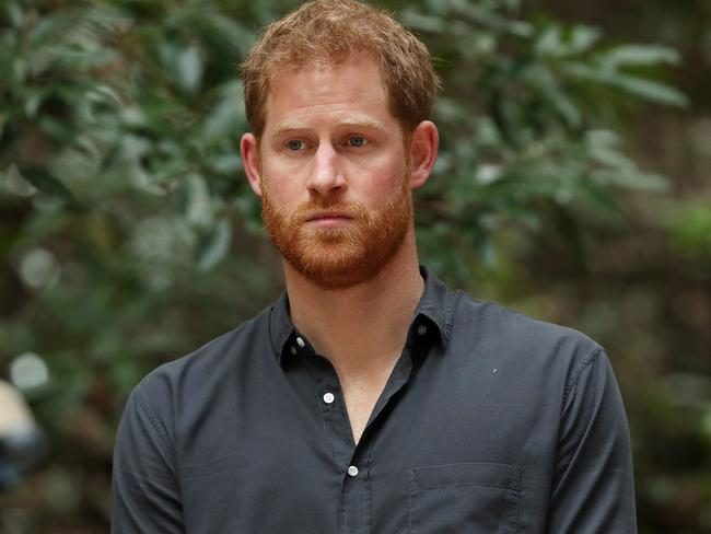 "Prince Harry has reportedly accused his brother of trying to ""wreck his relationship"" with Meghan. Picture: Liam Kidston"