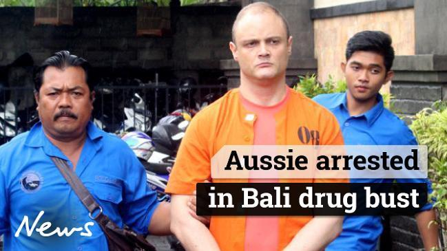 Aussie arrested in Bali drug bust